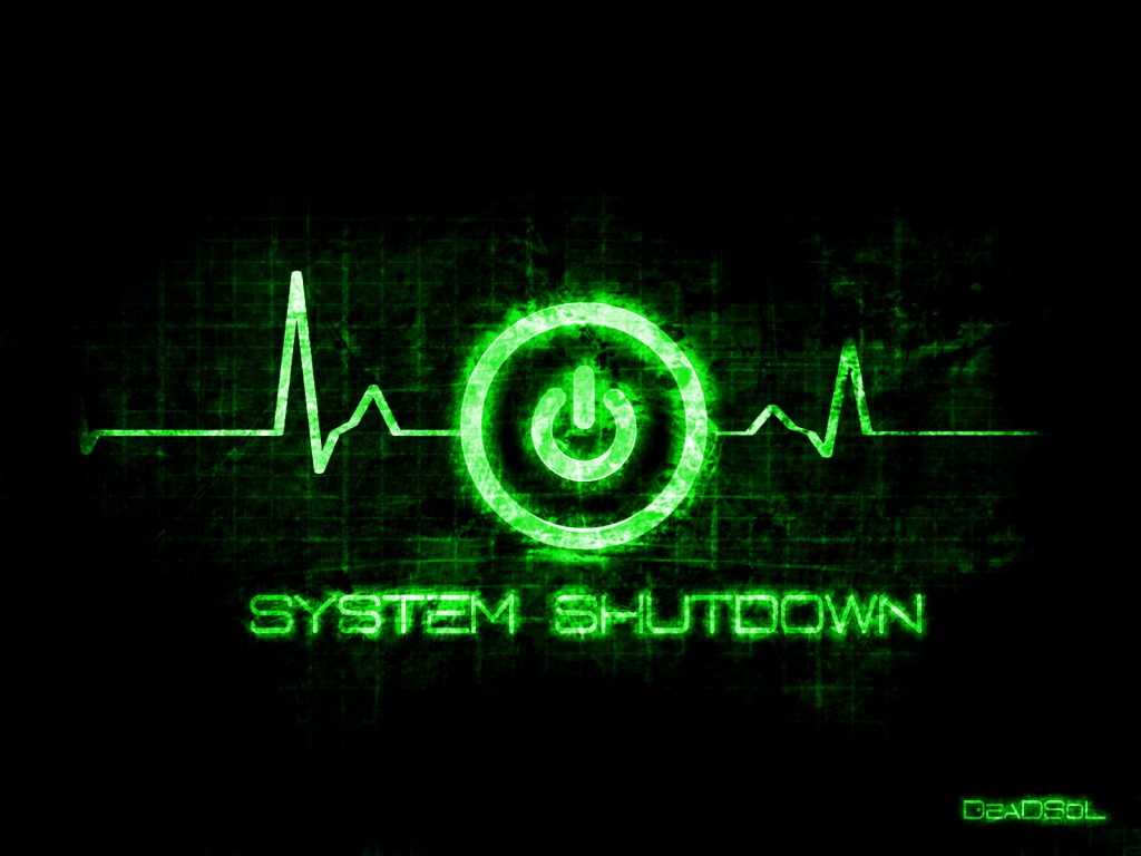 Remotely shutdown computers