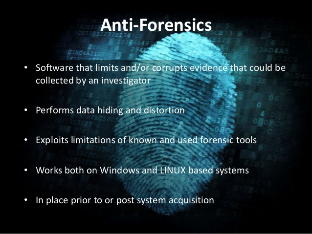 Complete Guide to Anti-Forensics – Leave no trace
