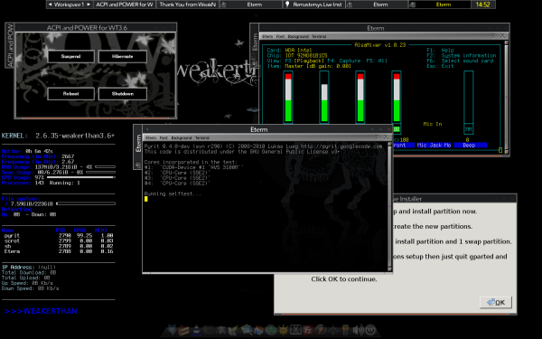 WEAKERTH4N – Another Hacking OS