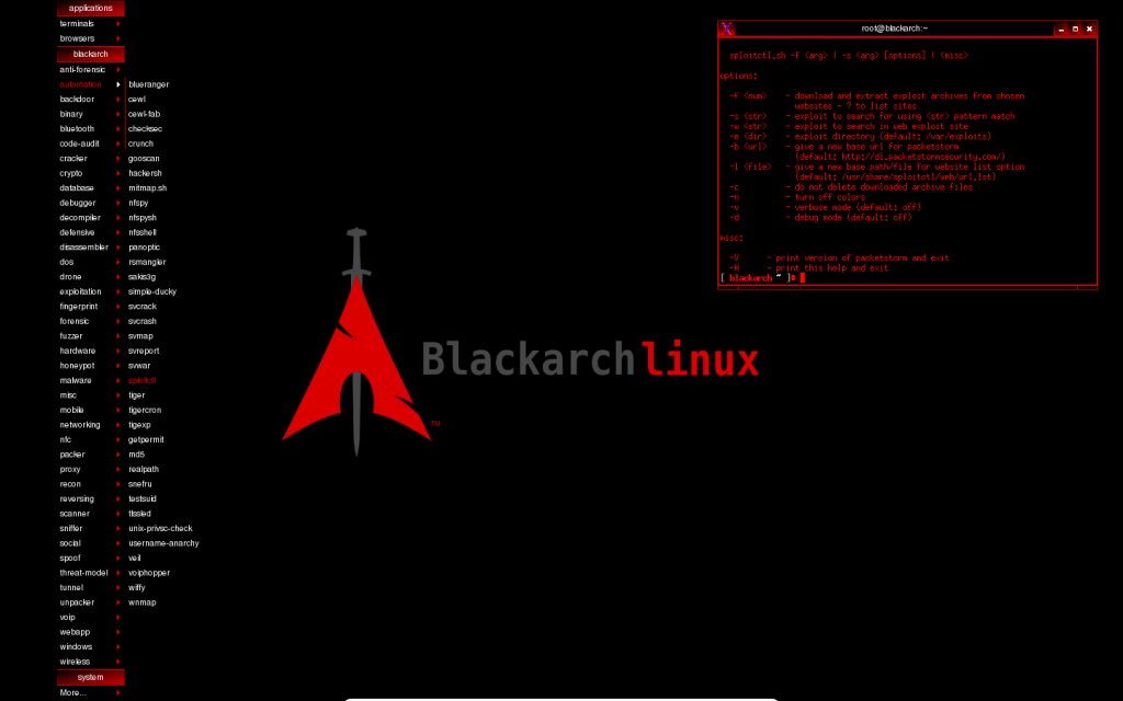 New BlackArch Linux version released