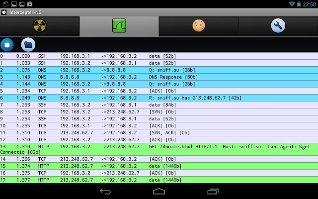 Intercepter ng v1.9 – Multifunctional Network Toolkit for Android