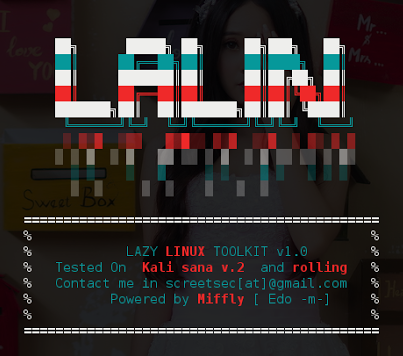 Lalin – Hackpack & Kali Linux Tools