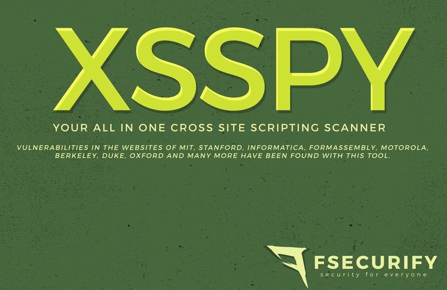 XssPy – Web Application XSS Scanner
