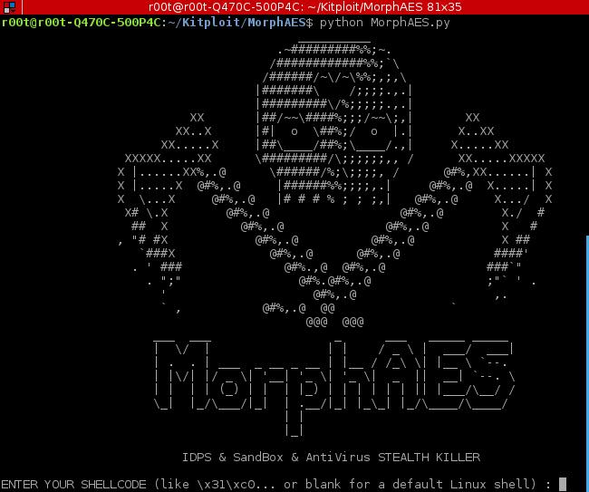 MorphAES – IDPS, SandBox & AntiVirus STEALTH KILLER