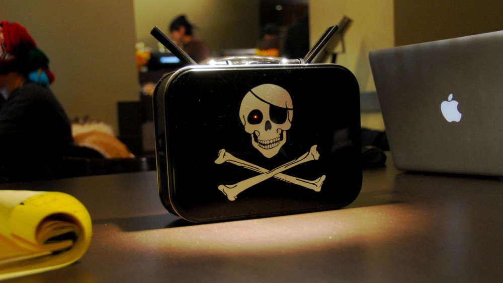 Anonymous Offline Communications System: PirateBox