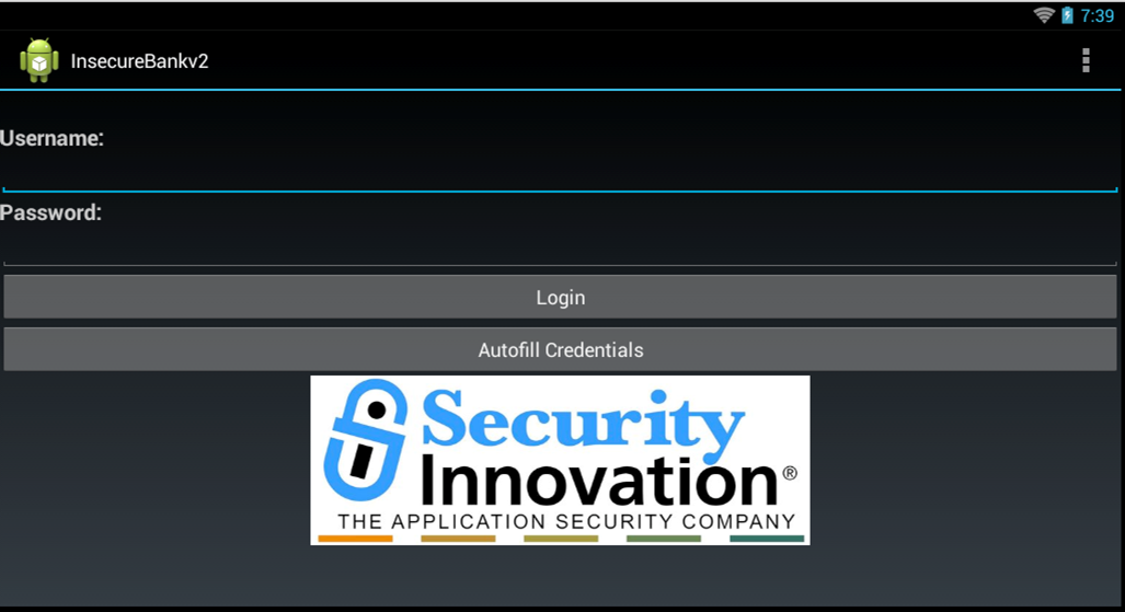 InsecureBankv2 – Vulnerable Android Application