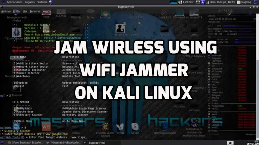 Wifijammer – Continuously Jam All Wifi Clients/Routers