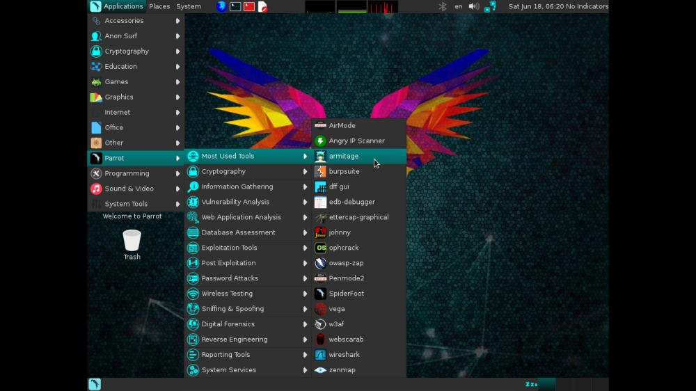 Parrot Security 3.3 – Linux distribution designed with cloud pentesting and IoT security in mind