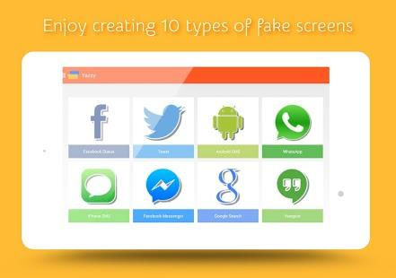 How to make Fake Conversations on Popular Messenger Apps