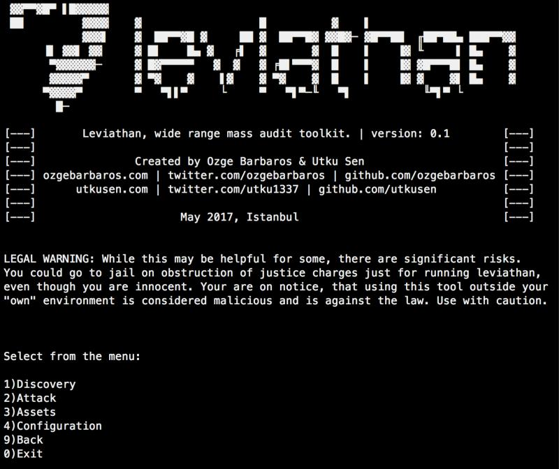 Leviathan Framework – Wide Range Mass Audit Toolkit