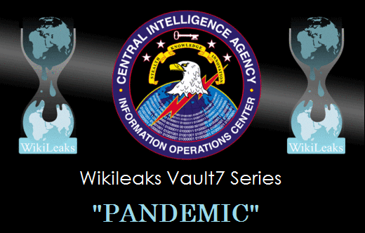 Wikileaks Vault 7 Releases New CIA Tool 'Pandemic.'