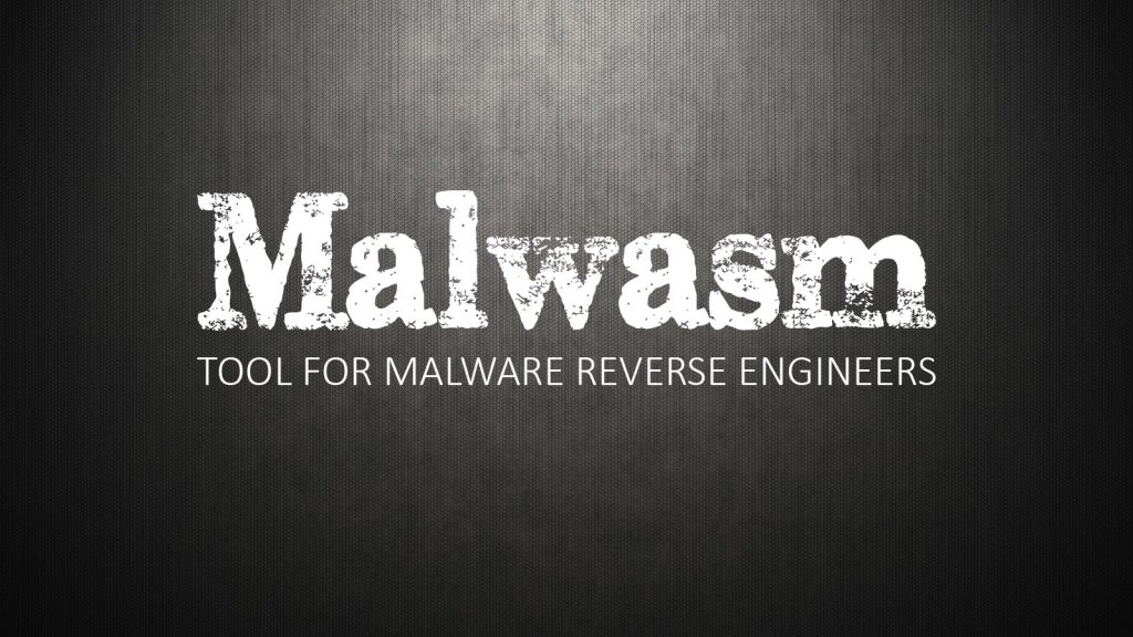 Malwasm – Tool For Malware Reverse Engineers
