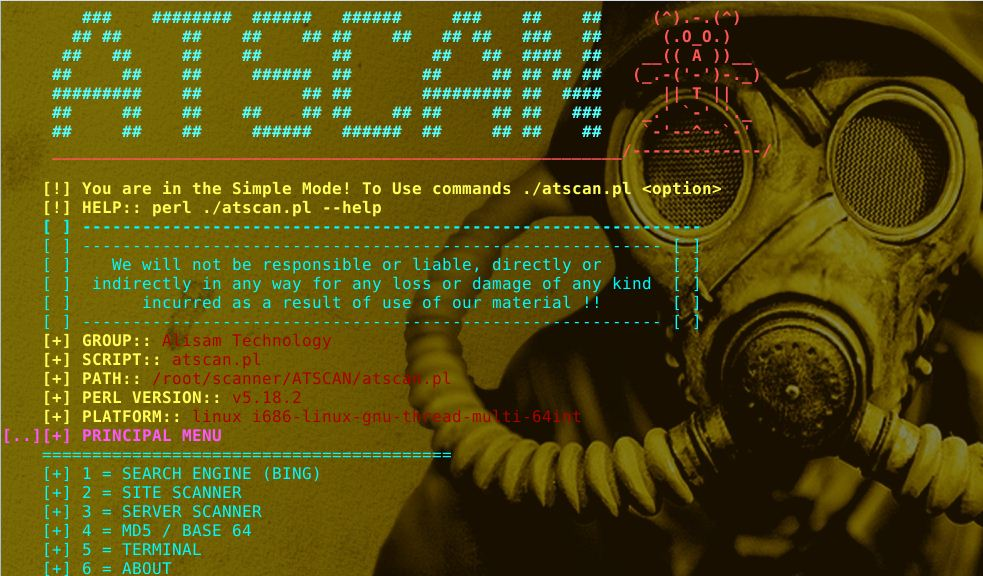 ATSCAN – Server, Site and Dork Scanner