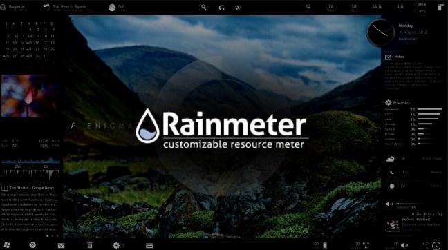 25 BEST RAINMETER SKINS FOR 2018