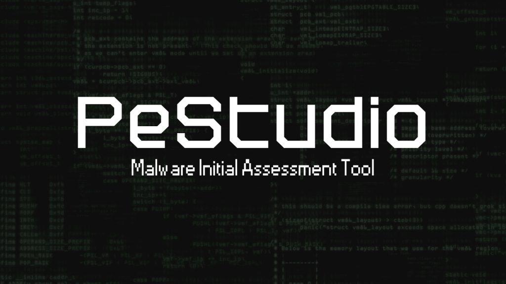 PeStudio – Malware Initial Assessment Tool