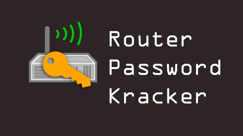 Router Password Kracker – Tool For Cracking Router/Modem/Website Passwords