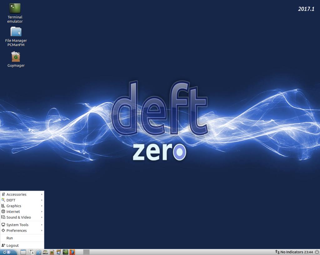 "DEFT ""Zero"" Linux 2017.1 Lightweight Digital Forensics Distro"