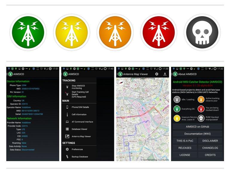 AIMSICD – Android IMSI-Catcher Detector