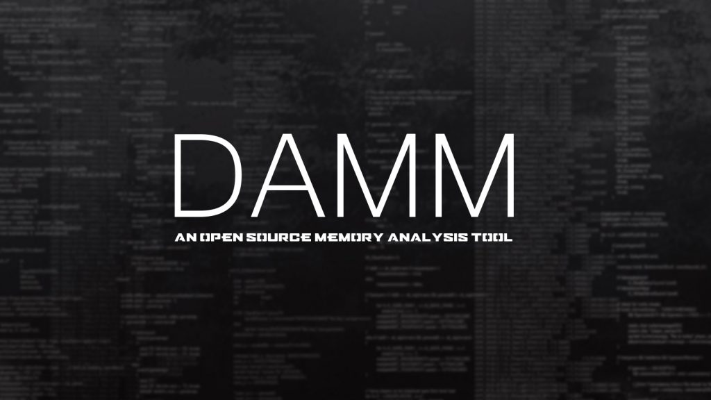 DAMM – An Open Source Memory Analysis Tool