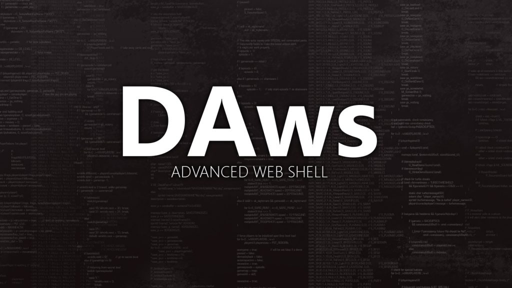 DAws – Advanced Web Shell
