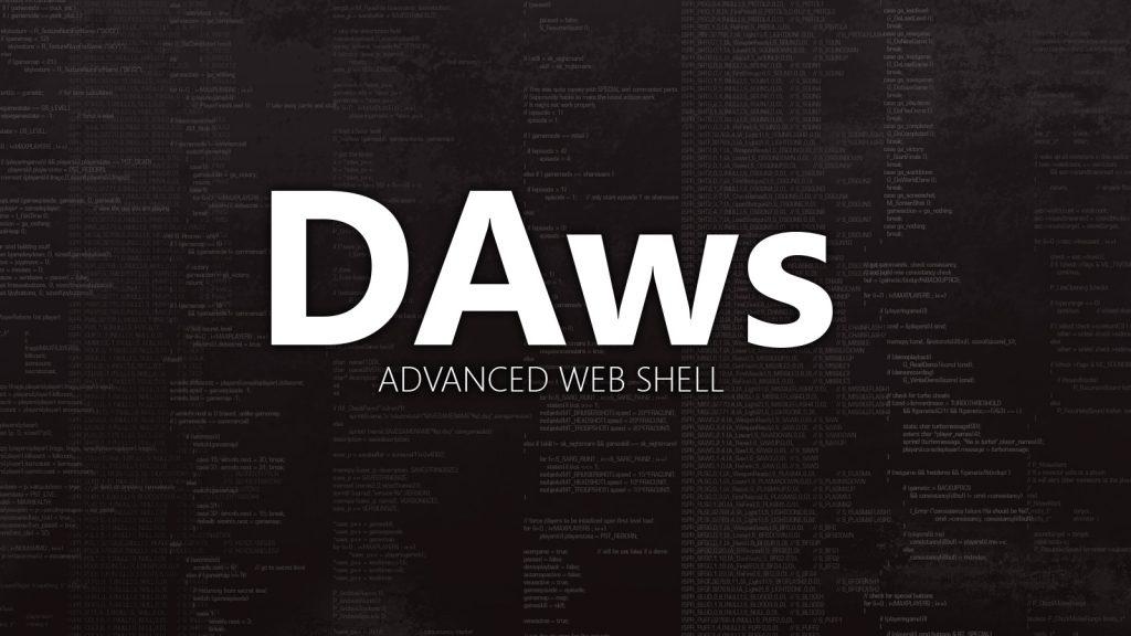 DAws – Advanced Web Shell