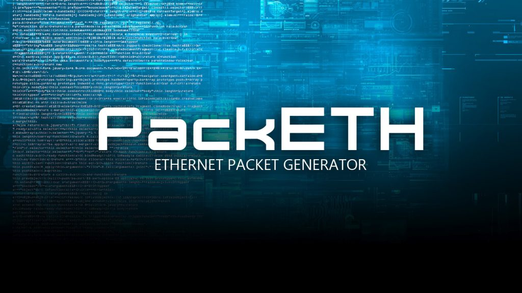 PackETH – Ethernet Packet Generator