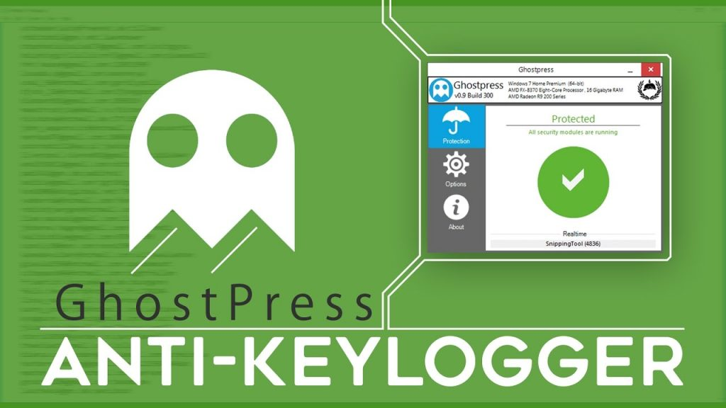 Ghostpress – Free Anti Keylogger
