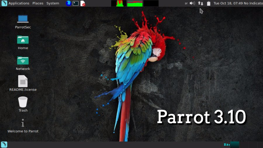 """Ethical Hacking"" Linux Distro Parrot 3.10 Released With New Features"