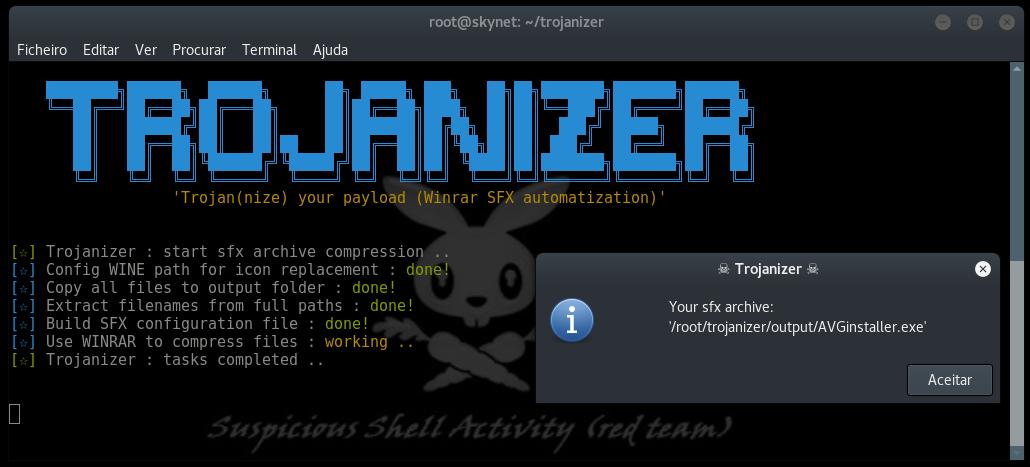 Trojanizer – Trojanize your Payloads