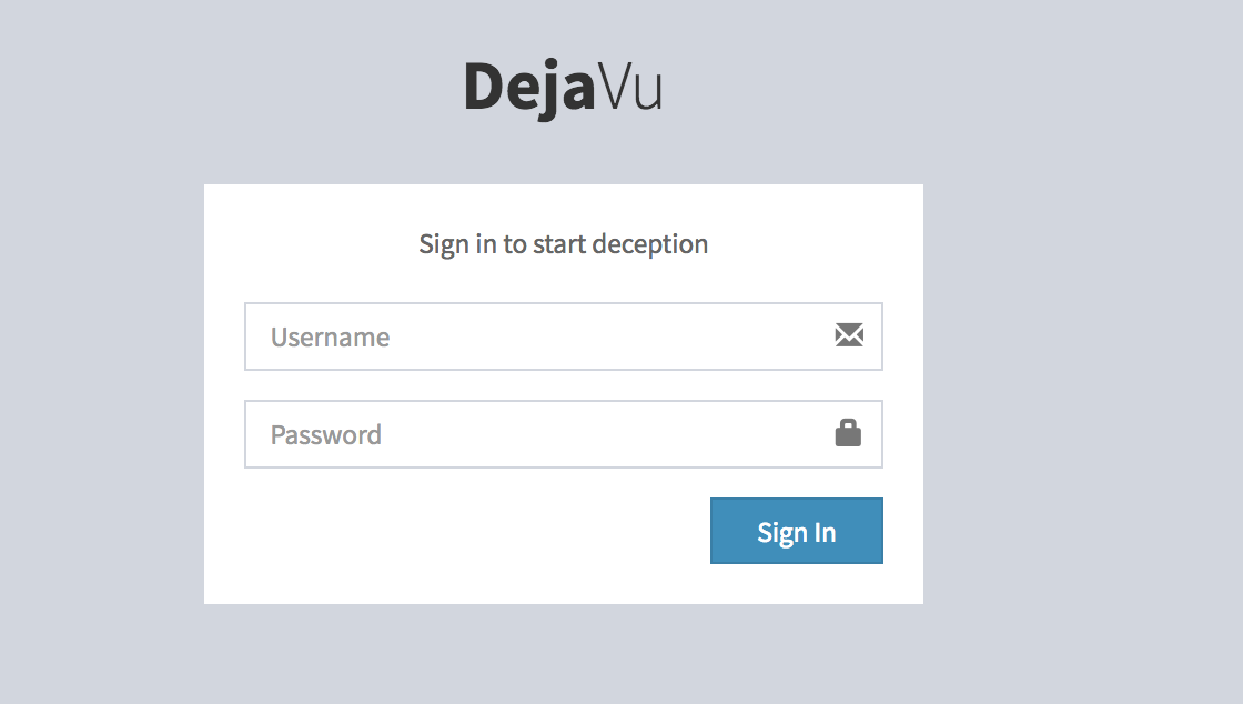 DejaVU – Open Source Deception Framework