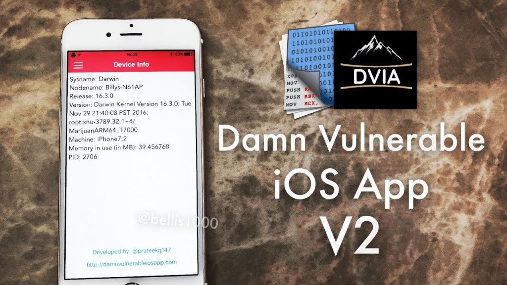 Damn Vulnerable iOS App: Swift Edition