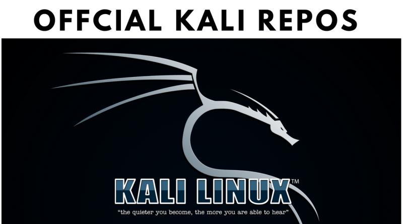 Kali Linux Official Repo List – Fix Broken Installation