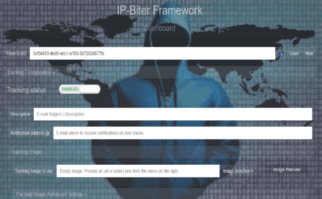 IP-Biter : The Hacker-friendly E-Mail Tracking Framework