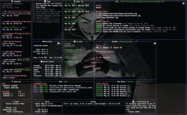 WTF – A Personal Information Dashboard For Your Terminal