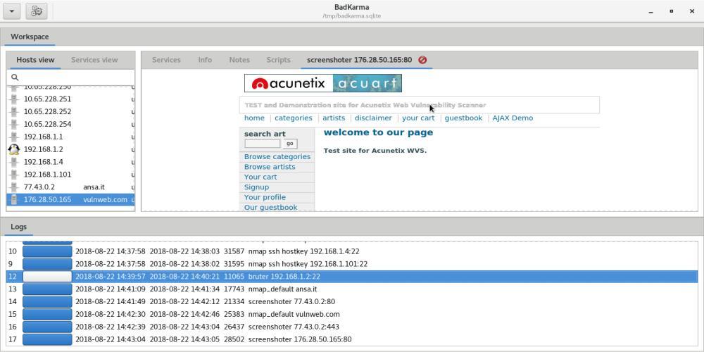 badKarma – Advanced Network Reconnaissance Toolkit