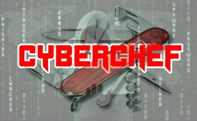 CyberChef – A web App For Encryption, Encoding, Compression & Data Analysis