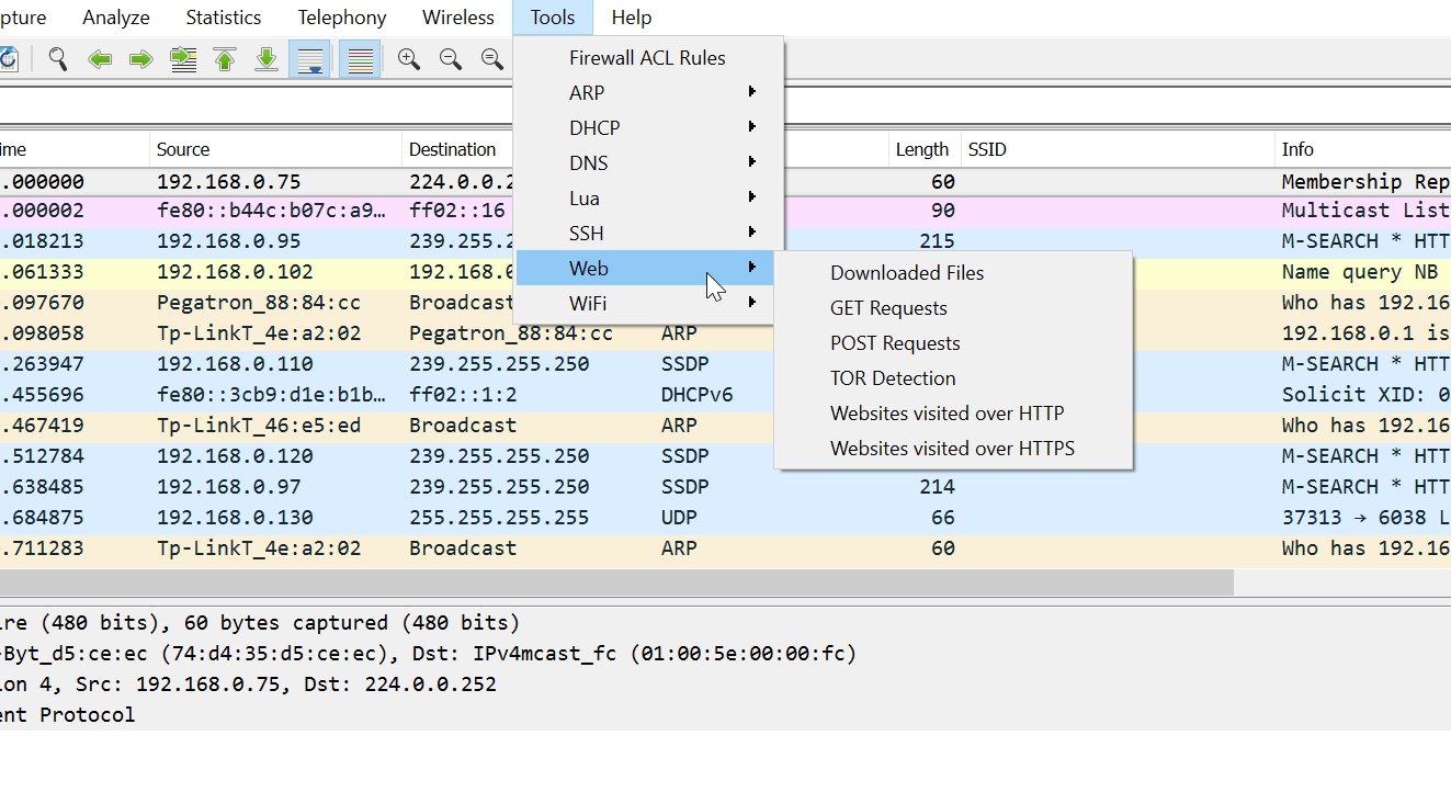 PA Toolkit – Wireshark Extensions for Penetration Testers