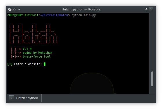 Hatch – Tool To Brute Force Most Websites