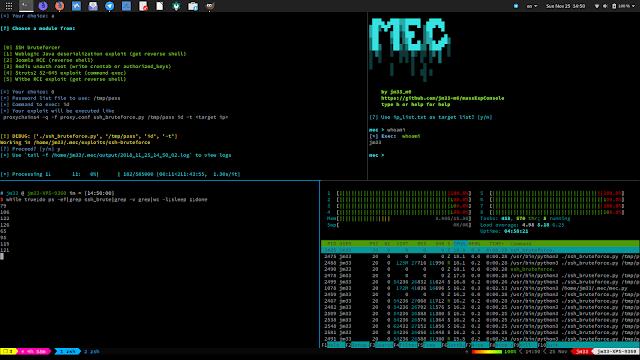 MEC v1.4.0 – Mass Exploit Console