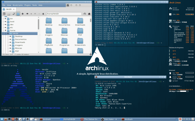 Arch Linux 2019.01.01 released: Linux Kernel 4.20.0