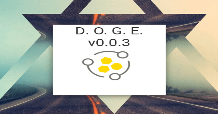 DOGE – Darknet Osint Graph Explorer