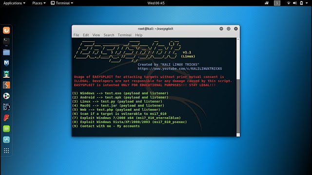 EasySploit – Metasploit Automation (EASIER and FASTER than EVER)