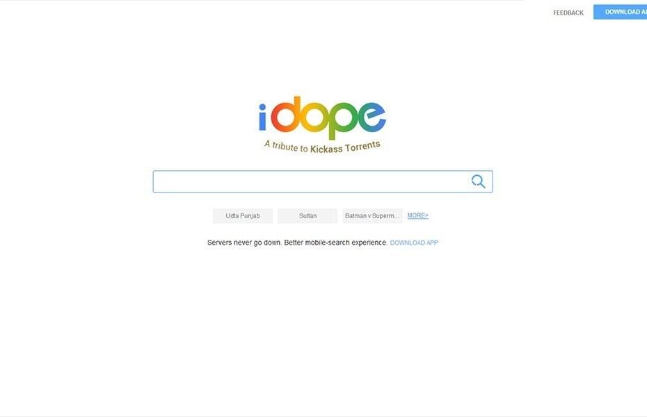 iDope – Kickass Torrents Alternative