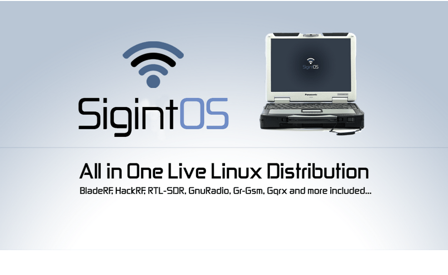 SigintOS – Signal Intelligence Linux Distribution