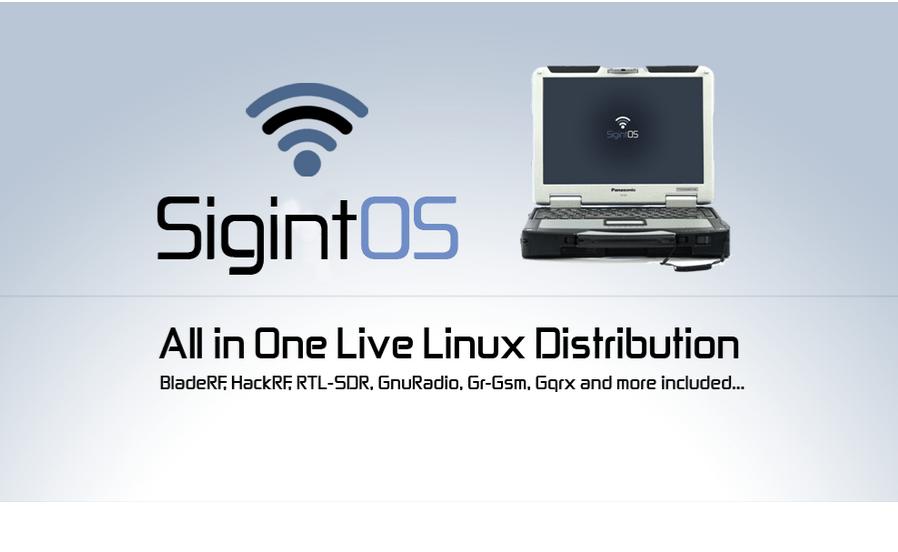 SigintOS – Signal Intelligence Linux Distribution