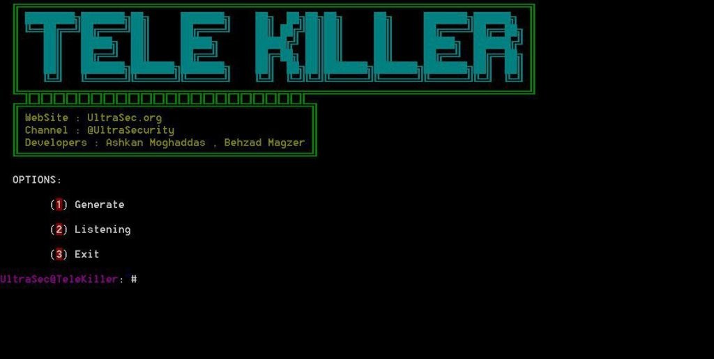 TeleKiller – A Tools Session Hijacking And Stealer Local Passcode Telegram Windows
