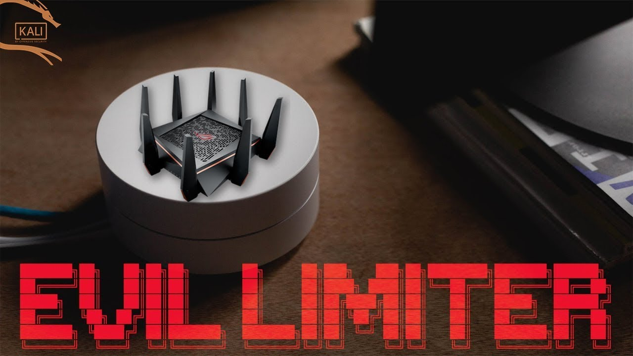 Evil Limiter –  Limits Bandwidth of Devices on the same Network Without Access.