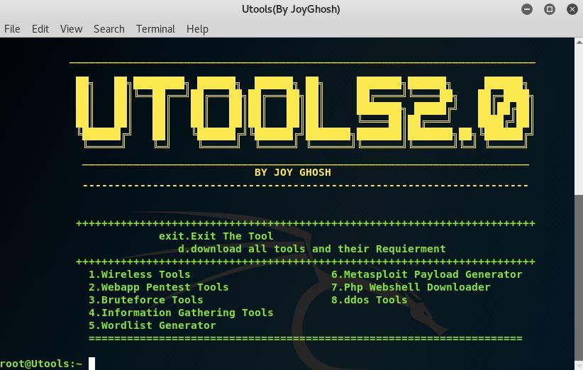 Utools2 – Hacking Toolkit