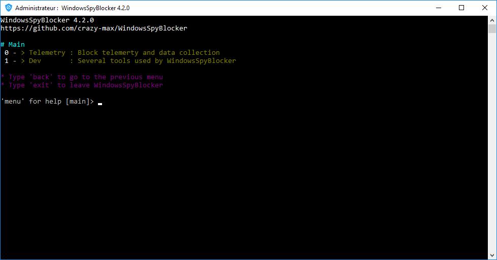 WindowsSpyBlocker – Block spying and tracking on Windows