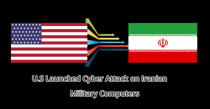 U.S Launched Cyber Attack on Iranian Military Computers